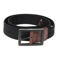 Shadow Stockwhip Belt Black, Small *Sale Item*