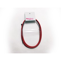 Fly Manual Brake Cable, Dark Red *Sale Item*