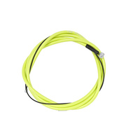 Shadow Linear Brake Cable, Electric Lime *Sale Item*