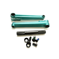 Macneil Conjoined Cranks 175mm/19mm Matte Green *Sale Item*