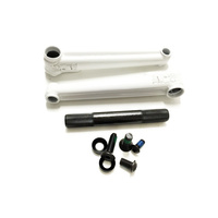 Macneil Conjoined Cranks 175mm/19mm, White *Sale Item*