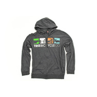 Tree Petroglyph Logo Zip Hoodie, Small *Sale Item*