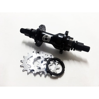 Macneil Cassette Rear Hub 11/12/13T, Black *Sale Item*