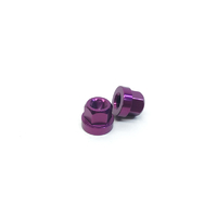 Macneil 10mm Axle Nuts (Pair), Purple *Sale Item*
