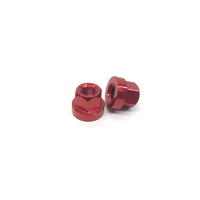 Macneil 10mm Axle Nuts (Pair), Red *Sale Item*