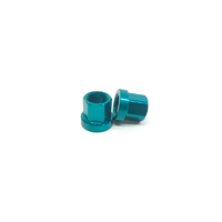 Macneil 14mm Axle Nuts (Pair), Green *Sale Item*