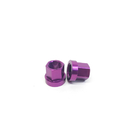Macneil 14mm Axle Nuts (Pair), Purple *Sale Item*