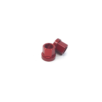 Macneil 14mm Axle Nuts (Pair), Red *Sale Item*