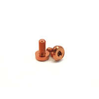 Shadow Raptor Slim Front Hub Bolts Orange