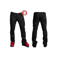 "Shadow Vultus Skinny Jeans, 30"" Black *Sale Item*"