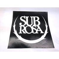 Subrosa Ramp Decal 15' X 15'