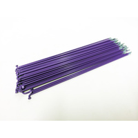 Sputnic Spokes 194mm - Includes Nipples, Purple *Sale Item*