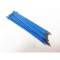 Shadow Spokes 180mm - Includes Nipples, Blue *Sale Item*