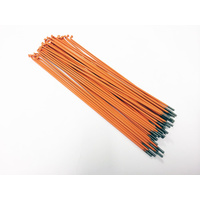 Shadow Spokes 186mm - Includes Nipples, Orange *Sale Item*