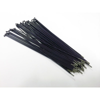 Shadow Spokes 194mm - Includes Nipples, Purple *Sale Item*