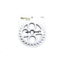 Fly Circulo Sprocket, 28T White *Sale Item*