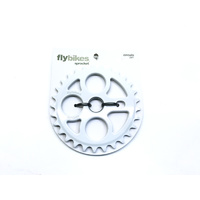 Fly Circulo Sprocket, 29T White *Sale Item*