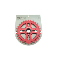 Fly Spacer Sprocket, 27T Red *Sale Item*