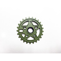 Subrosa Devil Disc Sprocket, 25T Matte Army Green *Sale Item*