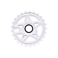 Subrosa Devil Disc Sprocket, 25T Matte White *Sale Item*