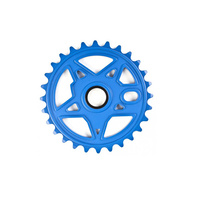 Subrosa Devil Disc Sprocket, 30T Matte Blue *Sale Item*