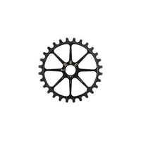 Tree Chro-Mo HT Spline Drive Sprocket, 25T Black