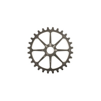 Tree Chro-Mo HT Spline Drive Sprocket, 25T Raw