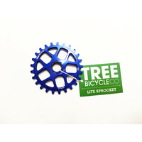 Tree Light Spline Drive Sprocket, 25T Blue