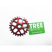 Tree Light Spline Drive Sprocket, 25T Red