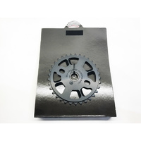 Shadow Crowgora Sprocket, 33T Black *Sale Item*