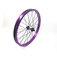 Shadow SPW Complete Front Wheel, Purple