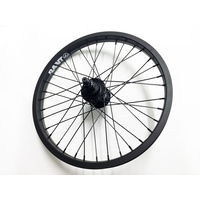 "Rant Semi Sealed Rear 18"" Cassette Wheel, Black"