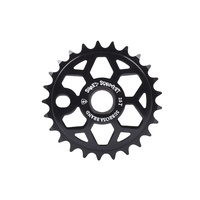 Subrosa Shred Sprocket, 25T Black W/White Logo