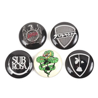 Subrosa Venom Denim Pin/Button Set. *Sale Item*