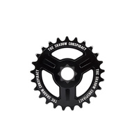Shadow Motus 19mm Spline Drive Sprocket, 28T Black
