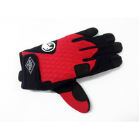 Shadow Local Gloves, Red Xlarge *Sale Item*