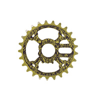 Shadow Crank & Bones Sprocket, 25T Olive
