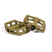 Fly Ruben Graphite Pedals, Military Green *Sale Item*