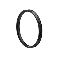 Stranger XXL Double Walled 7075 Rim, Matte Black
