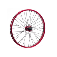 Shadow Corvus Rear Wheel BTR SDS, Red Tye Die Rim W/Black Hub