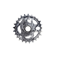 Shadow Serpent Sprocket, 25T Polished Tye Die