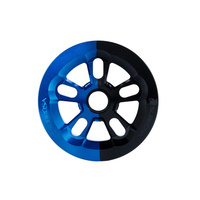Subrosa Magnum Bash Sprocket, 25T Blue/Black Fade
