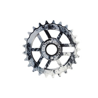Shadow Align Sprocket, 28T Polished Tye Die