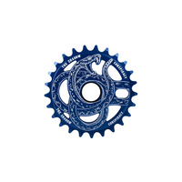 Shadow Serpent Sprocket, 28T Perma Blue