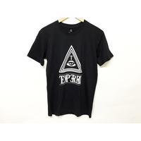 Tempered Triangle Tee, Black/White Small *Sale Item*
