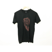 Tempered Splatter Tee, Black/Red Medium *Sale Item*
