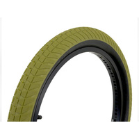 "Fly Ruben Rampera Tyre 20"" X 2.35"", Military Green W/Black Walls *Sale Item*"