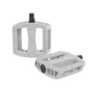 Rant Plastic Pedals, Grey *Sale Item*