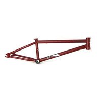 "Tempered Treason Frame, 20.6"" Matte Burnt Red *Sale Item*"
