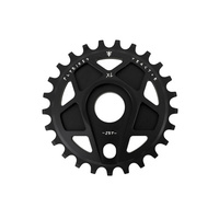 Fly Tractor XL Sprocket, 25T Flat Black